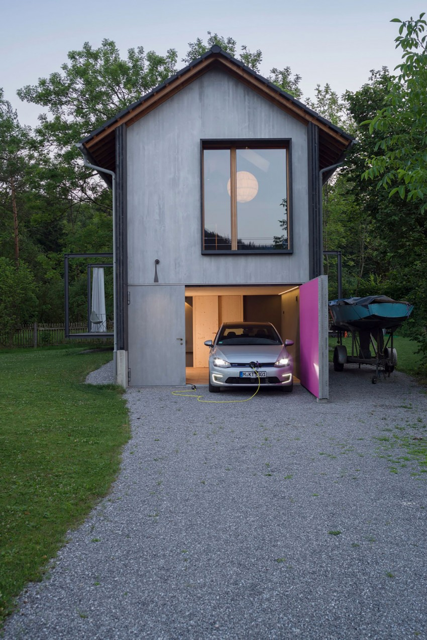 Small Wooden House In Bavaria Is Big On Style