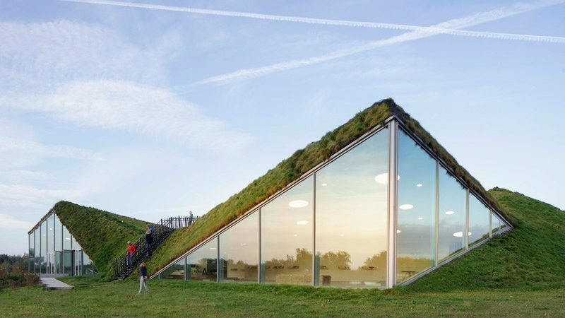Dutch Museum Renovation Features Living Roof