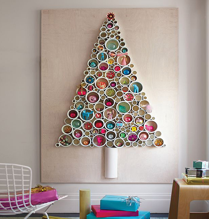 Unconventional DIY Trees. Collect This Idea