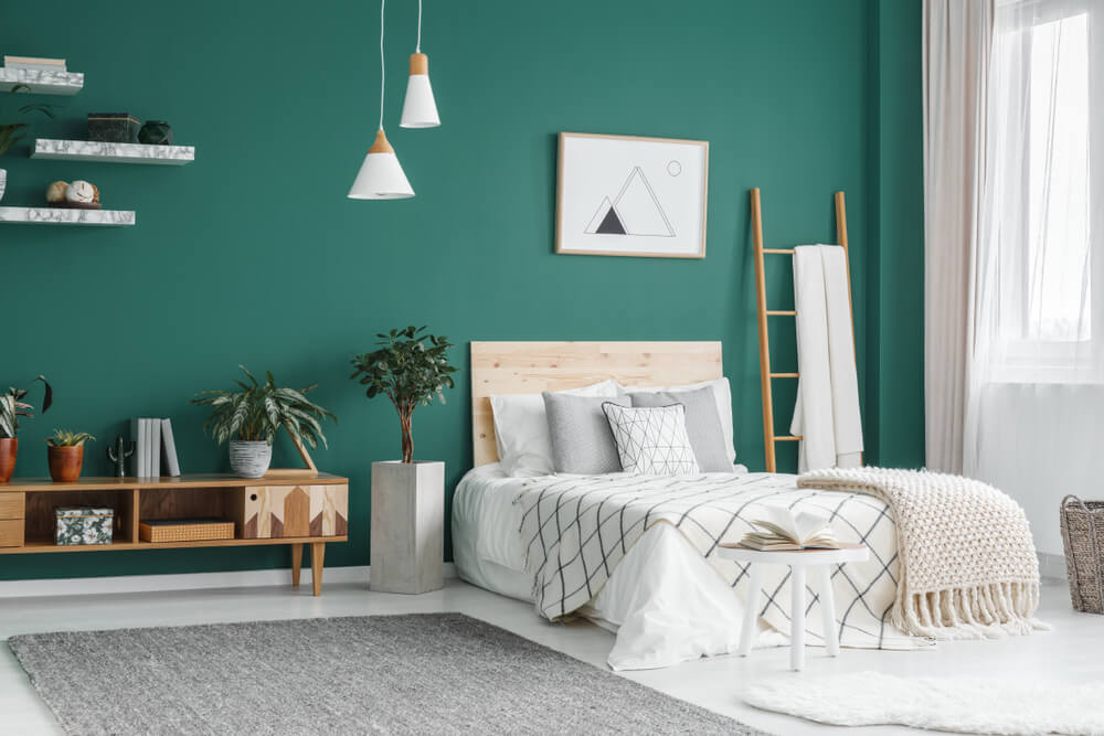 Room Color Green