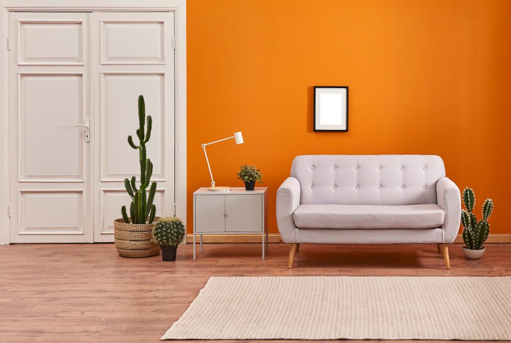 Room Color Orange