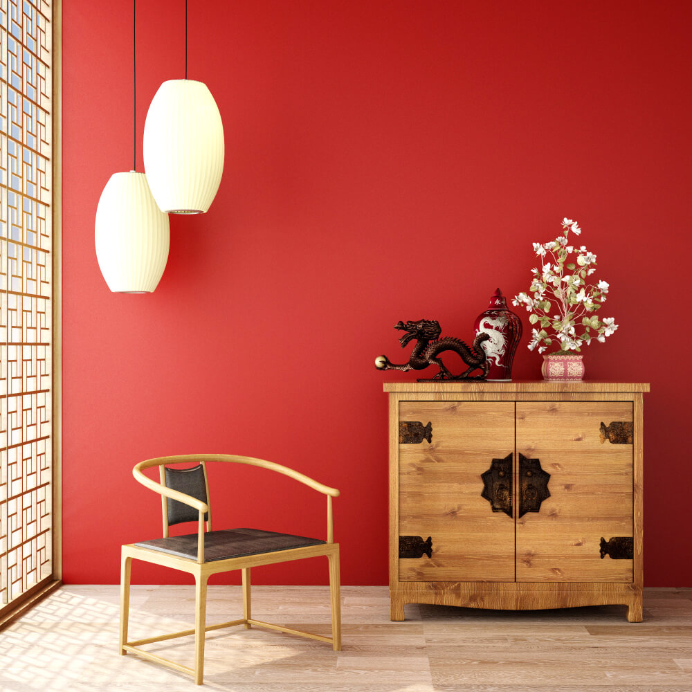 Red Colour Wall: Room Color And How It Affects Your Mood