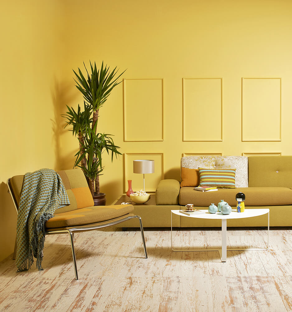 Room Color Yellow