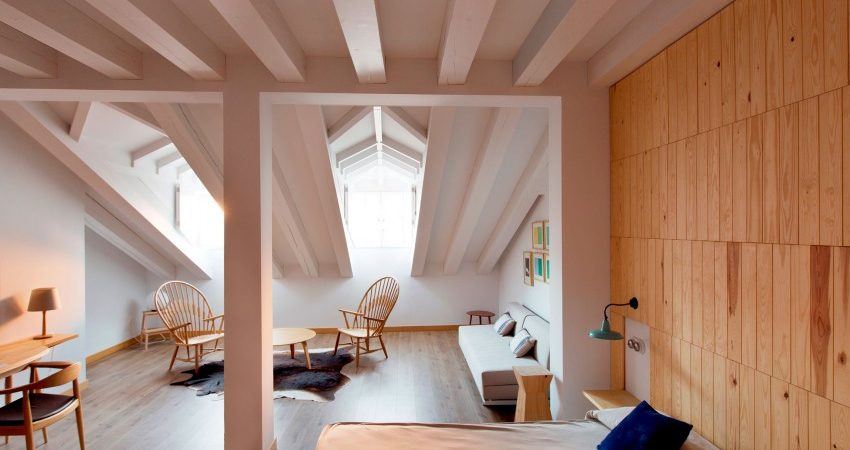 Small Hotel in Spain Combines Rustic and Contemporary Details