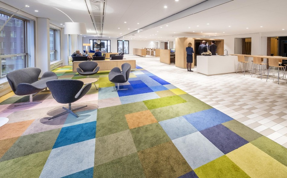 Master Painters Inspire Ministry Office Design In Netherlands