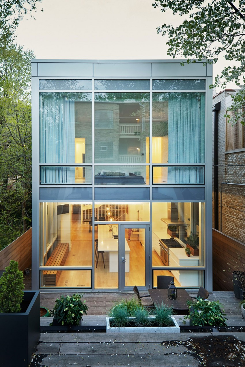 Chicago Brownstone Gets A Thorougly Modern Update
