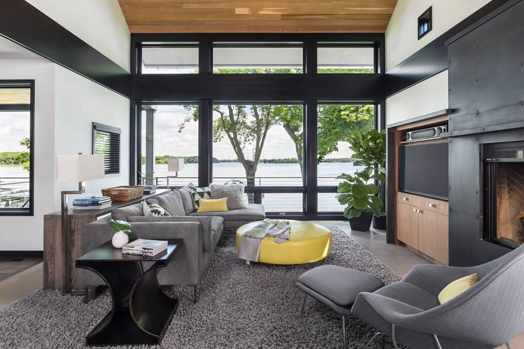 Collect this idea modern residence (6) & Contemporary Lake House in Minnesota Encourages Fun