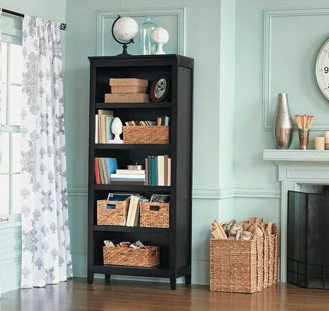 6-target bookcase
