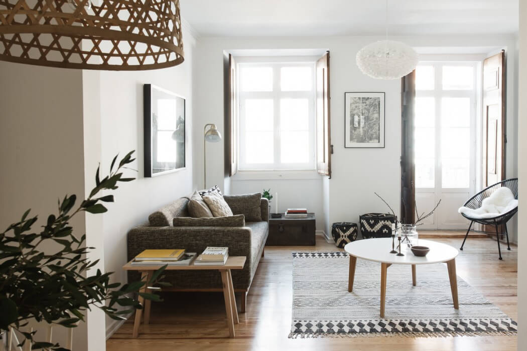 Laid Back Lisbon Apartment Opens Up To Let In Light