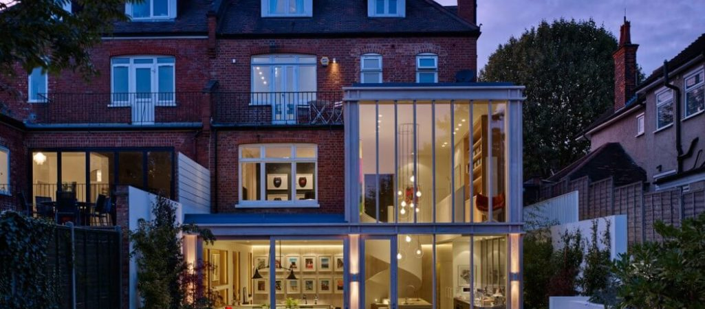 Edwardian Home in London Gets Contemporary Addition