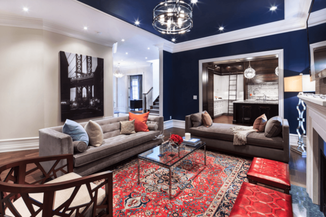 Add Color and Drama to Your Home With These 35 Painted Ceiling Ideas