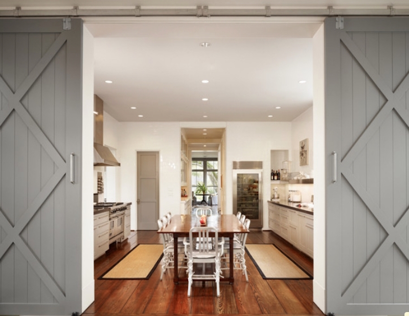 barn door ideas - Freshome