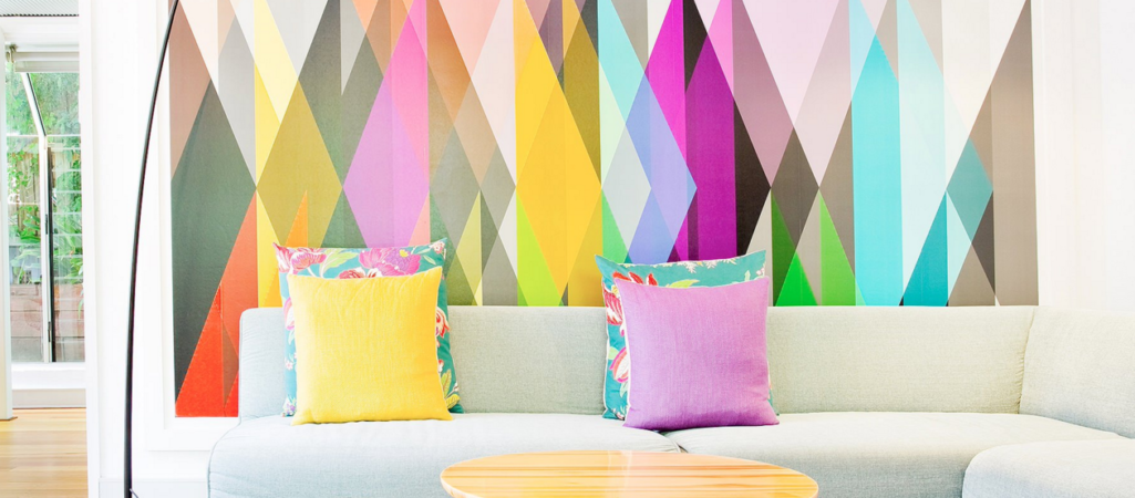 25 Dazzling Geometric Walls for the Modern Home