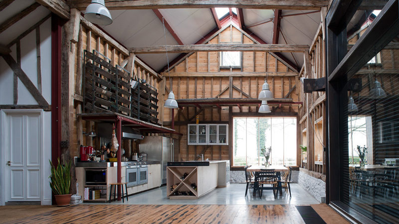 18th-Century Barn Remodel in England