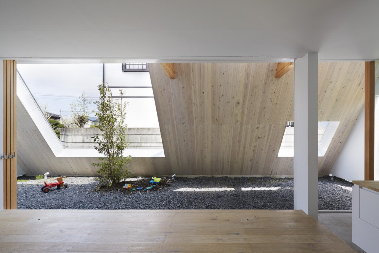 Minimalist Home Japan Blurs Interior Exterior