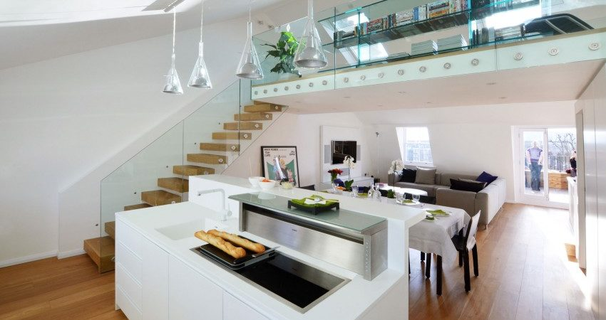 Traditional Victorian Terrace Apartment In London Gets A Modern - Modern-apartment-design
