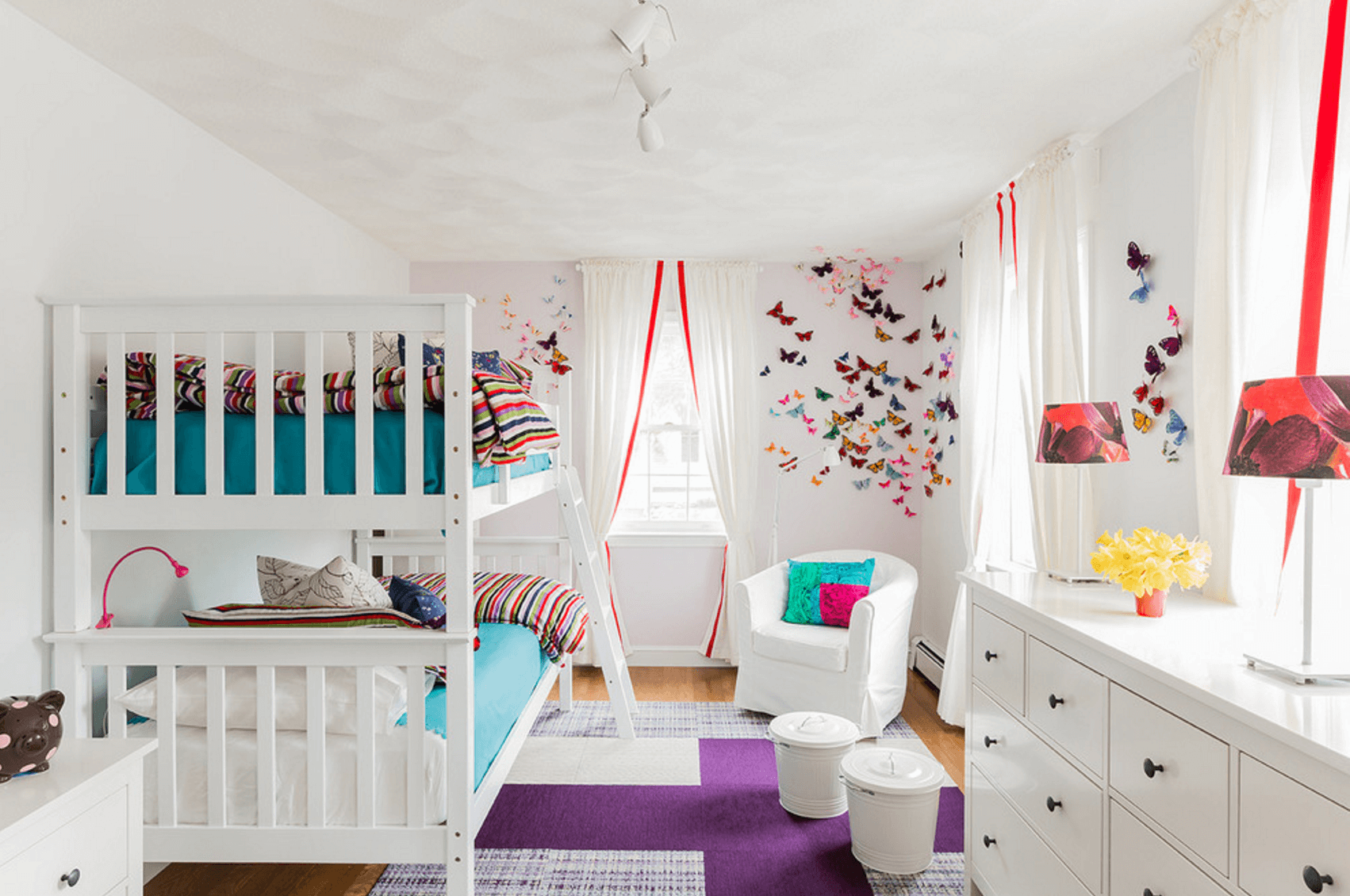 Beautiful Butterfly Bedroom
