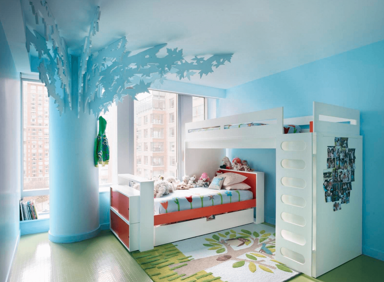 Creative Shared Bedroom Ideas for a Modern Kids\' Room | Freshome.com