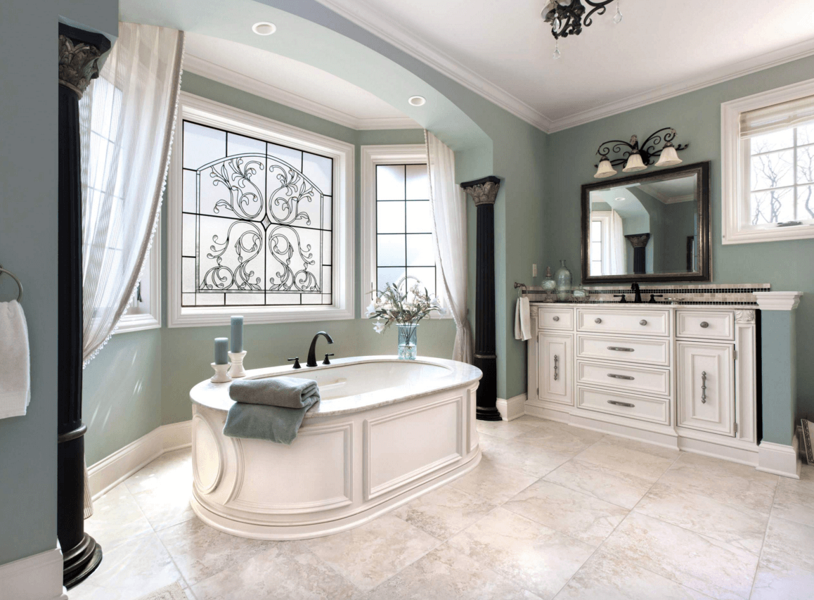 Color Into Your Bathroom Design