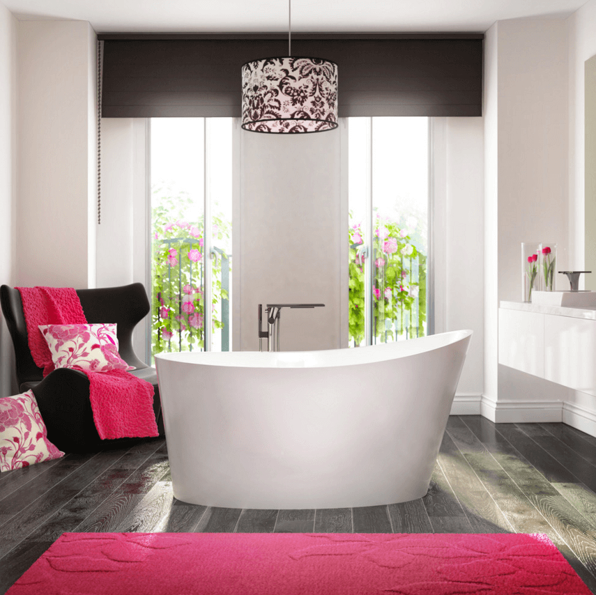 10 Ways to Add Color Into Your Bathroom Design | Freshome.com