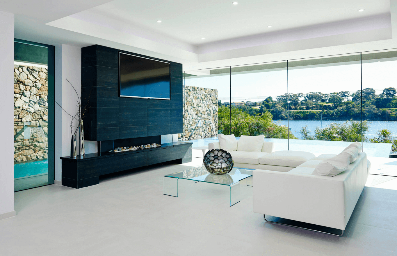 Exceptional Minimalist Contemporary Living Room