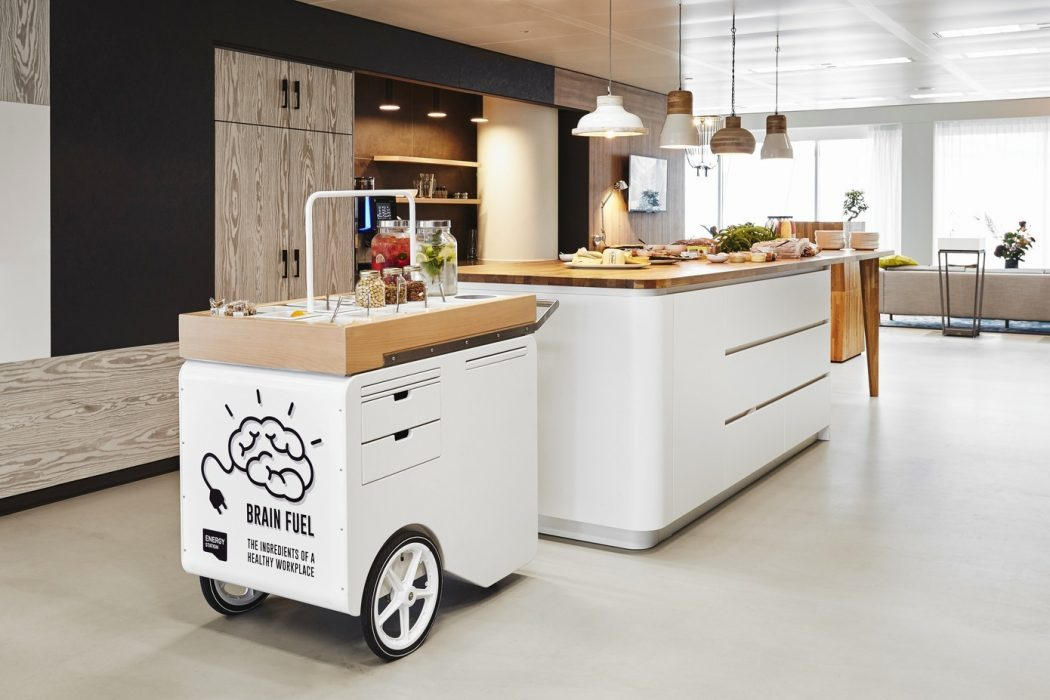 Informal kitchen - modern office design Amsterdam