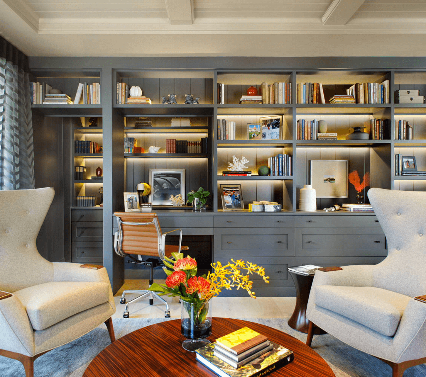 Home Office Designs Living Room Decorating Ideas: 4 Modern And Chic Ideas For Your Home Office