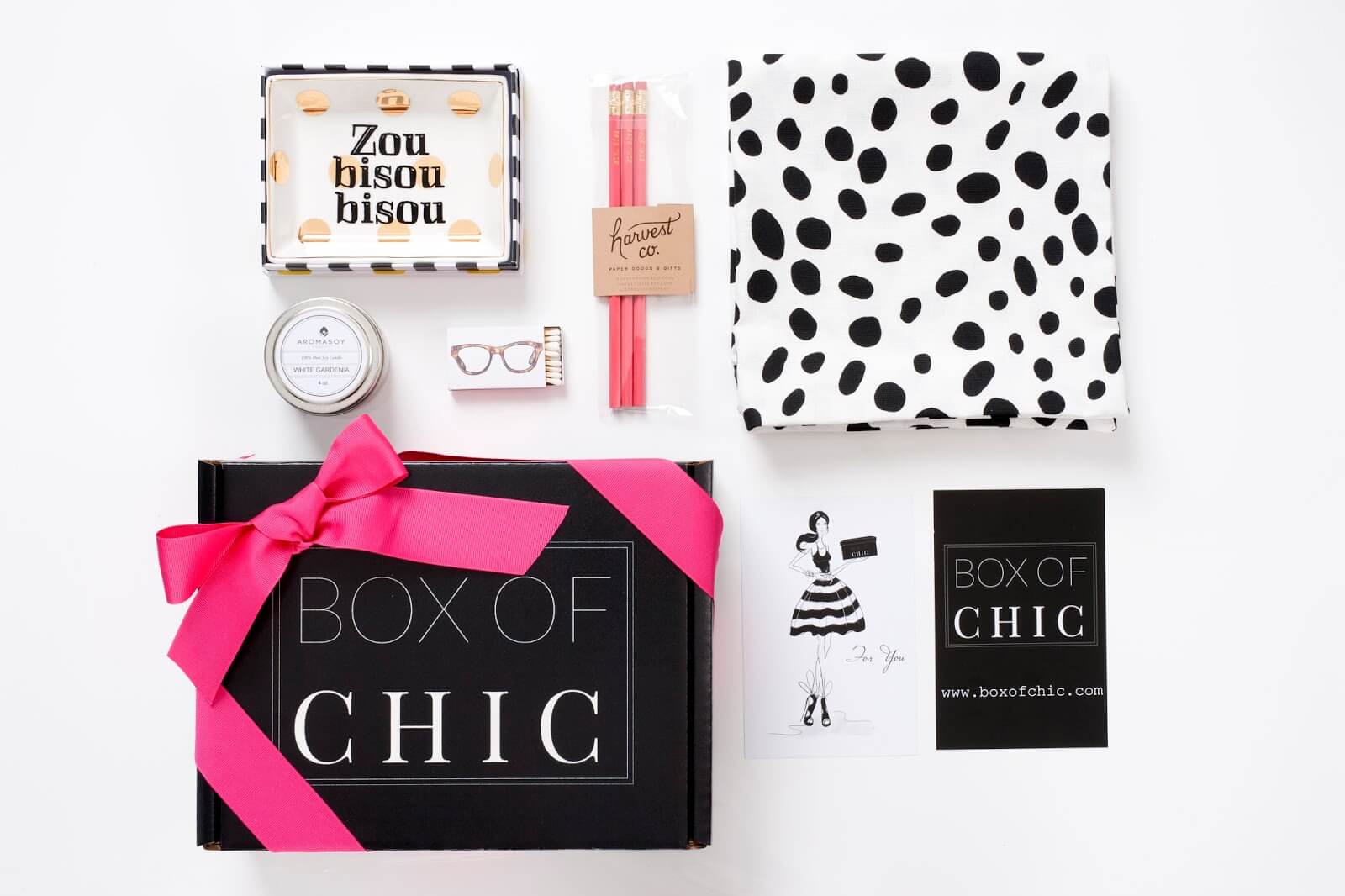Collect This Idea Box Of Chic Home Decor Subscription