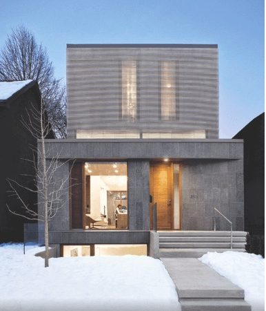 Family Home in Toronto Focuses on Energy Efficiency
