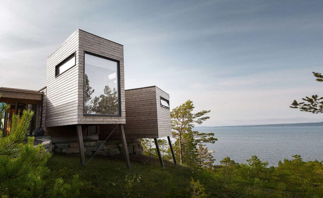 Modular Room Extensions Elevate This Contemporary Cabin in Norway
