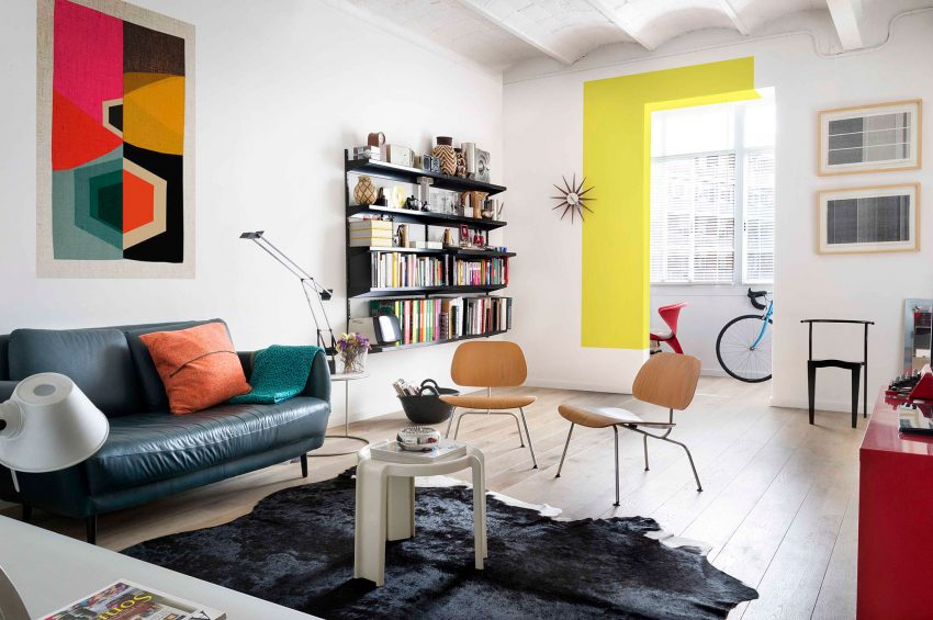 Colorful Apartment in Barcelona Serves as Family Haven ...