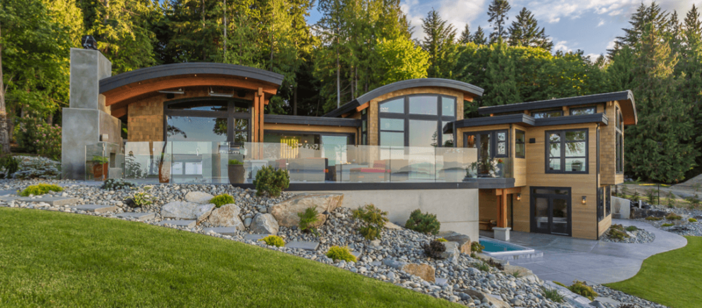 """Cadence"" – A Harmonic Configuration of Open Spaces on Vancouver Island"