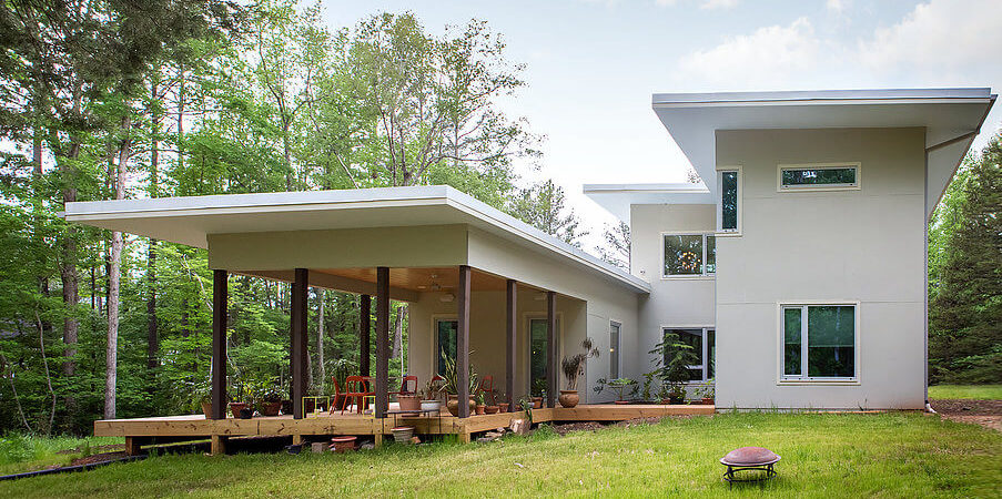 North Carolina Home with the Ultimate Environmentalist Cred