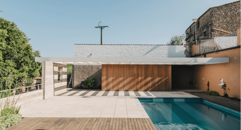 Poolside Retreat Revives Outdoor Space in Spanish Home
