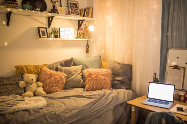 10 Stylish, Space-Saving Dorm Room Ideas
