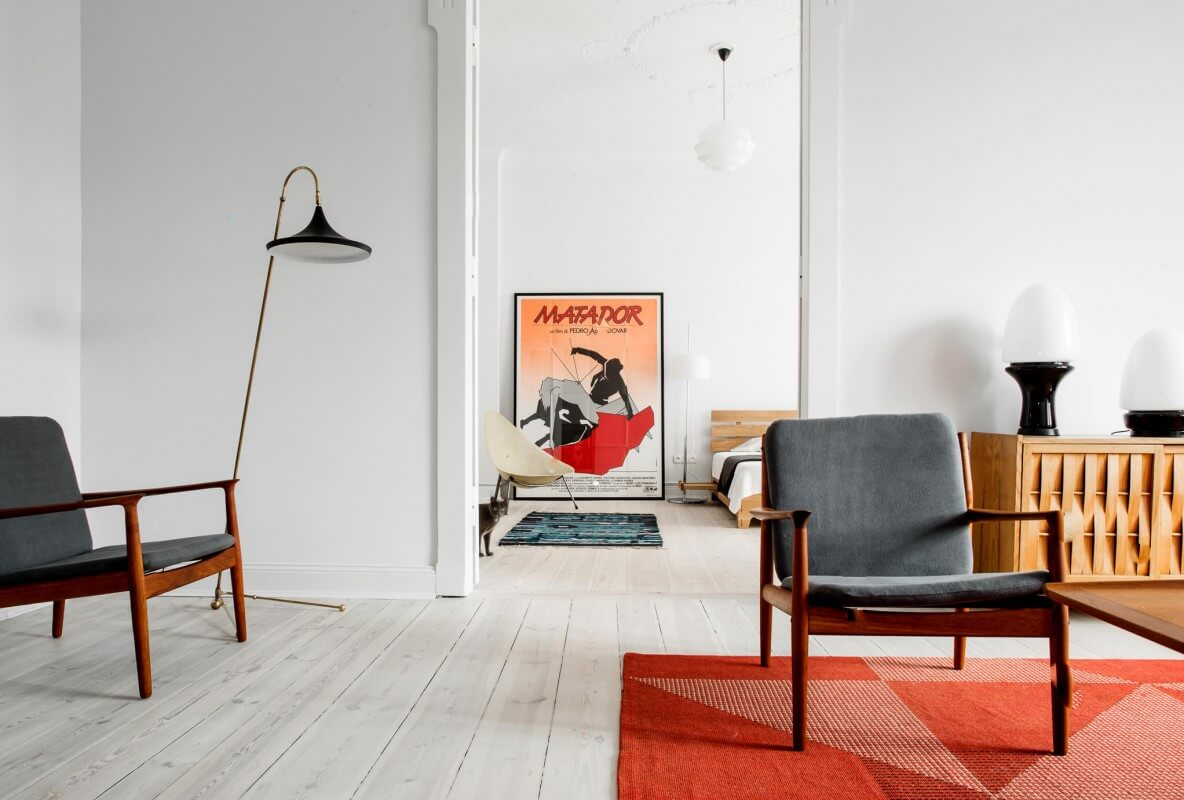 This renovated tenement is a design time capsule