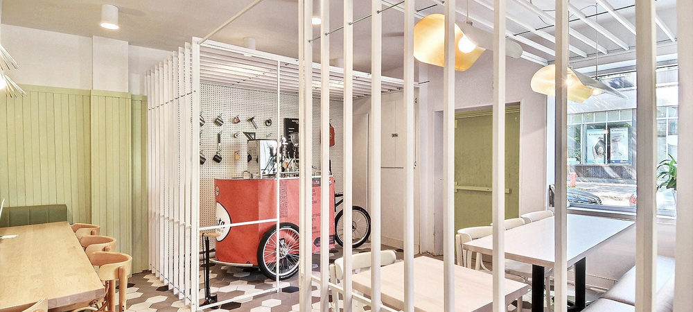 Grind Your Coffee by Pedaling at Montreal's Pista Café