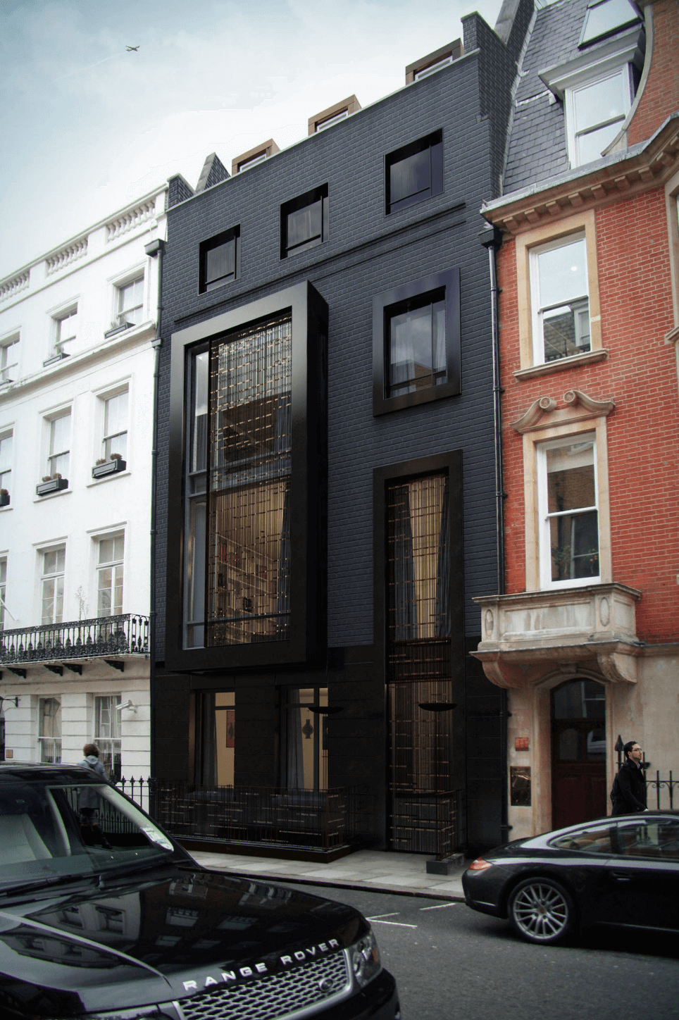 Collect This Idea Black Exterior In London