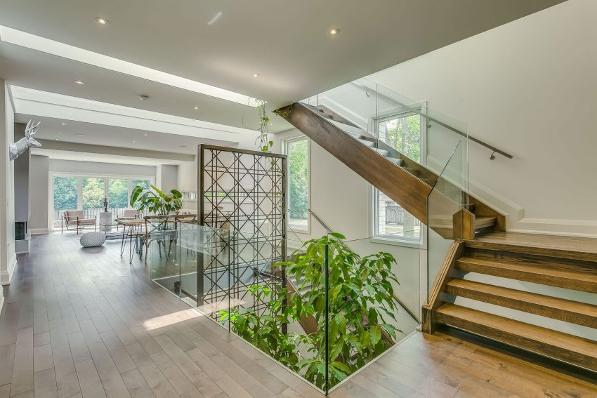 Garden Void House In Toronto Displays Highly Flexible Layout