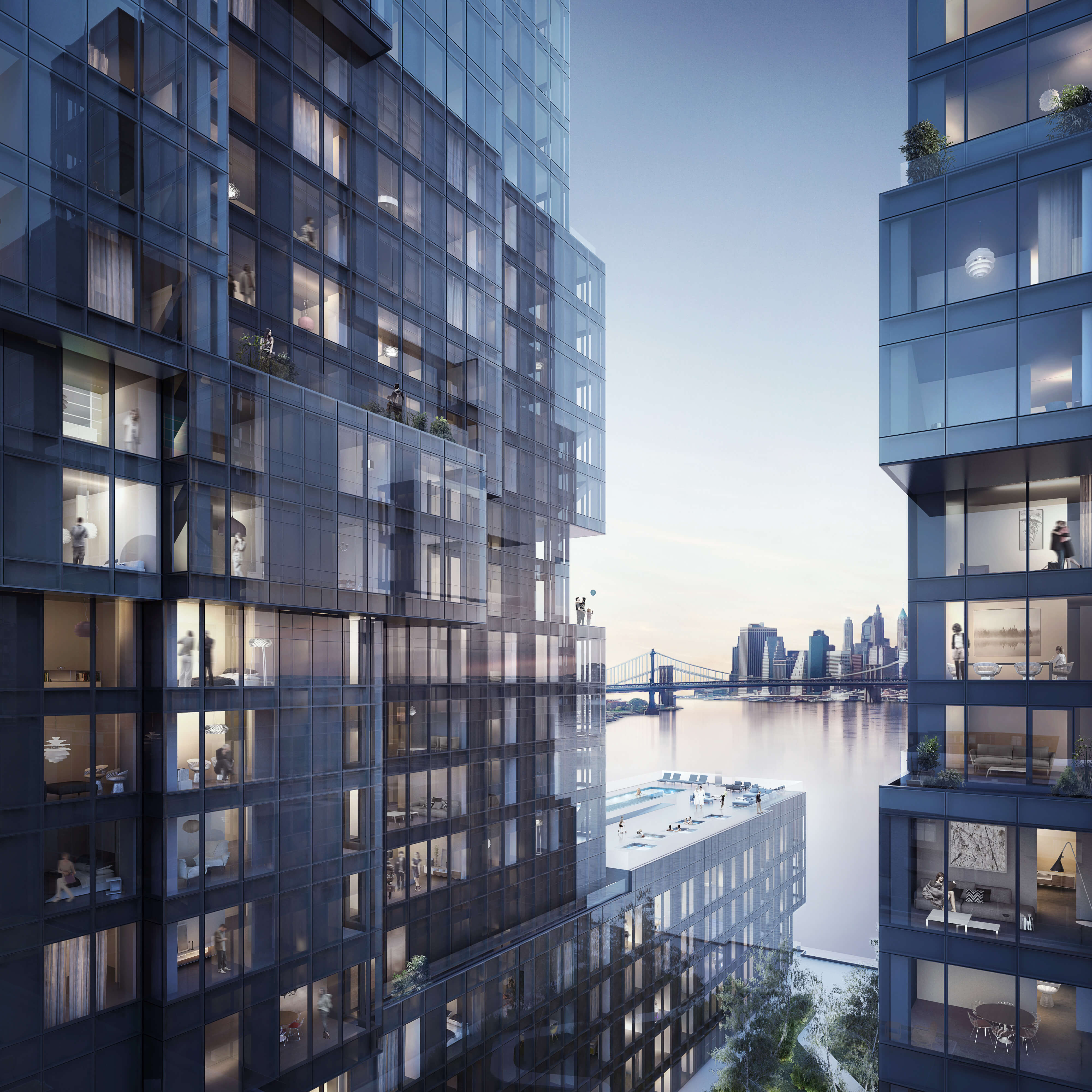 New Apartment Rentals: Corner Apartments For All On Kent Avenue