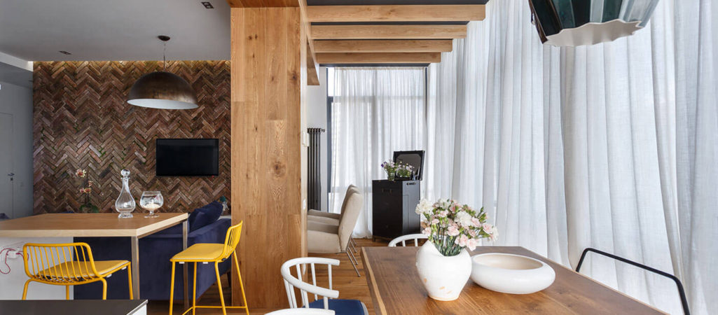 Creative Apartment in Ukraine Packed with Design Ideas