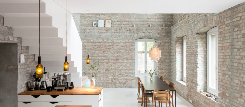Contemporary Home Woven into Historic Architecture in Berlin