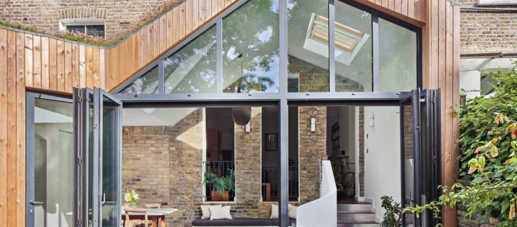 Brick Residence in London Showcases Glazed Timber Extension
