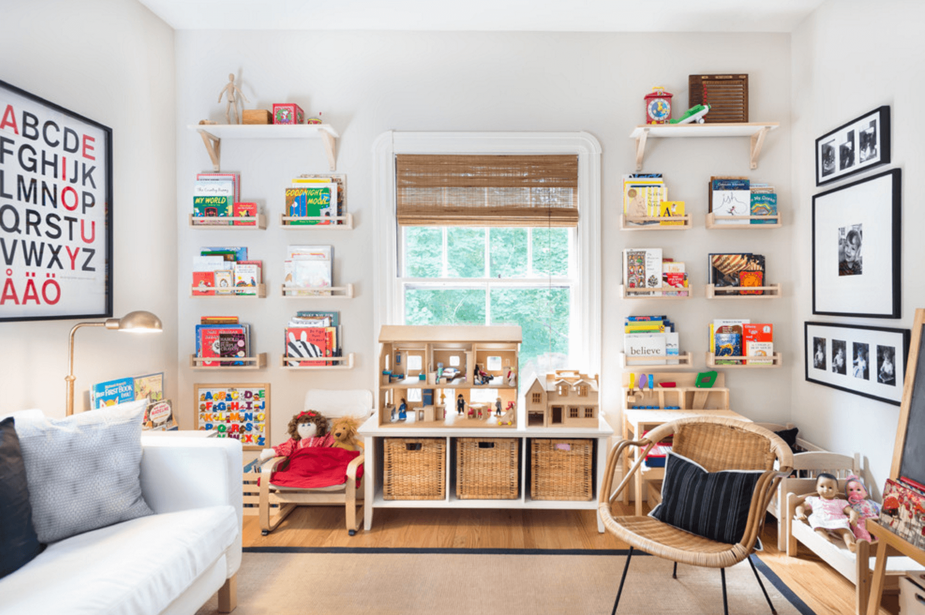9 Ideas for Adding Color to a Kids Room