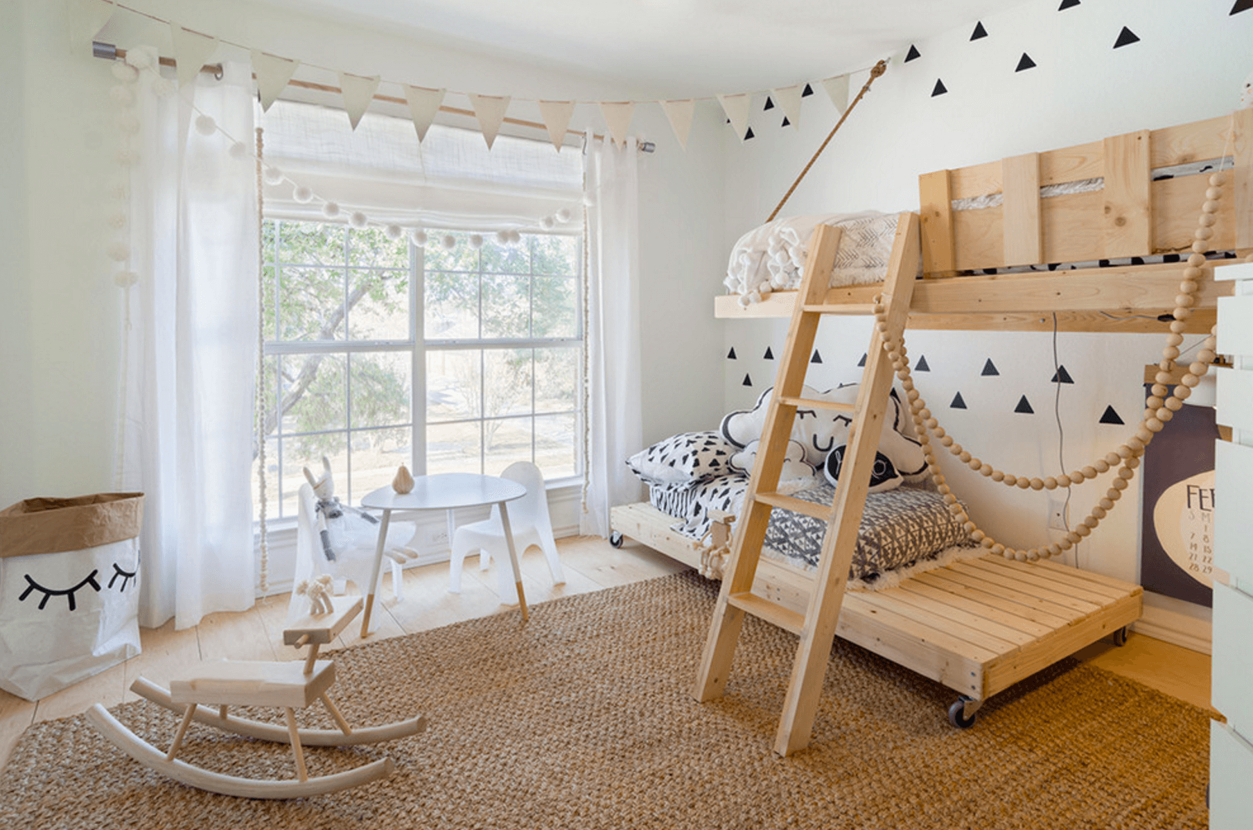 Captivating Kids Room Neutral3. Image: Urbanology Designs