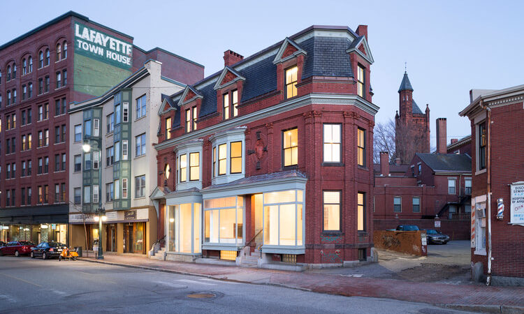 Renovation Revitalizes a Historic Landmark in Maine