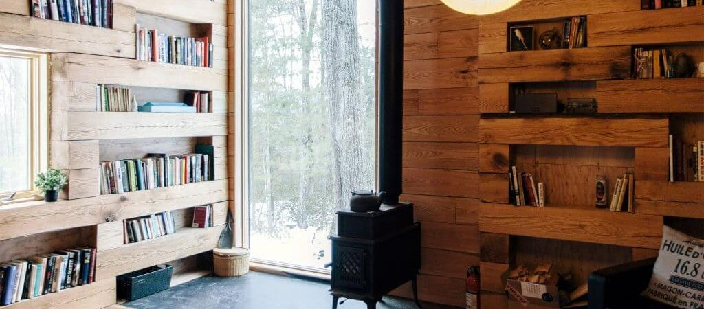 Bookworms will Adore this Cabin in Upstate New York