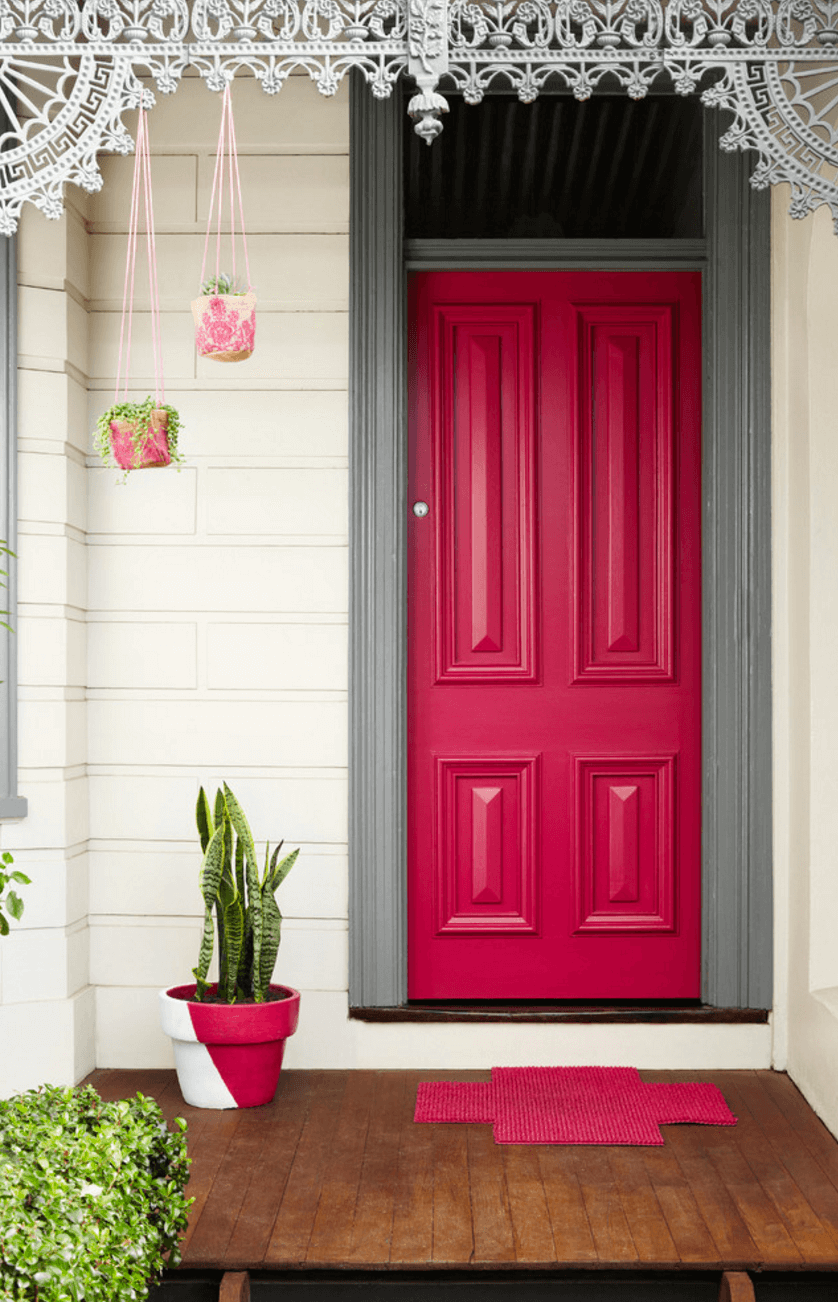 What Does Your Front Door Color Say About Your Home