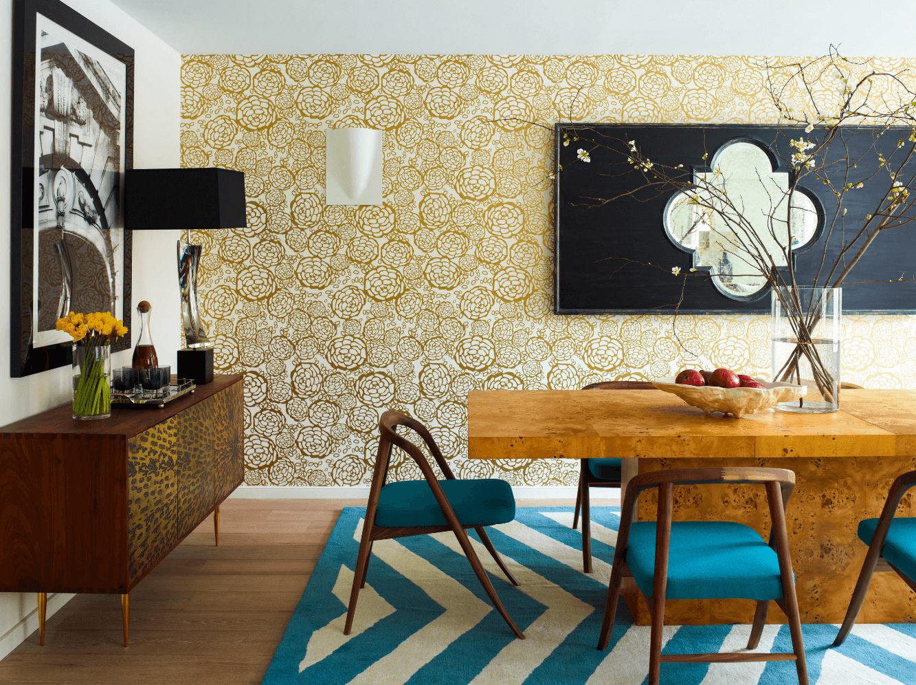 28 Stunning Wallpaper Ideas Your Home Needs Freshomecom - Home-design-wallpaper