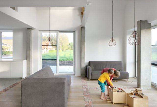 A Modern Farmhouse with Historic Walls